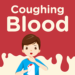 Coughing blood and what it means