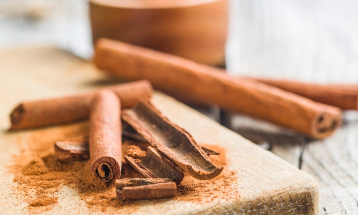 Healthy Indian spices - Cinnamon
