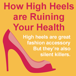 How high heels may be ruining your health