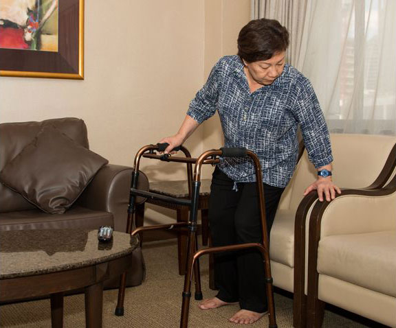 Homecare services help patients to recover at home