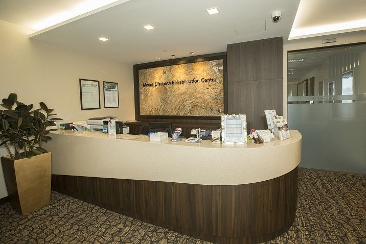 Mount Elizabeth Rehabiliation Centre Paragon Front Counter