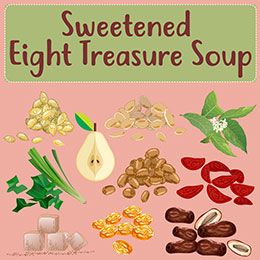 Eight treasure soup