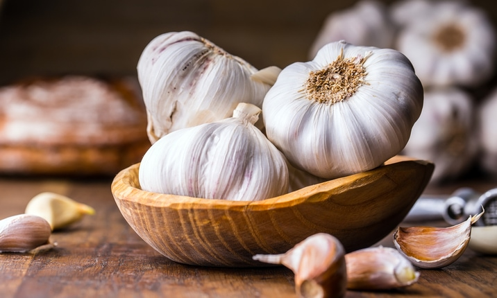 Reduce cancer risk - Garlic